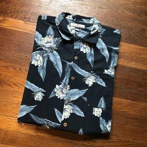 Tommy Bahama 100% Silk Hawaiian Shirt